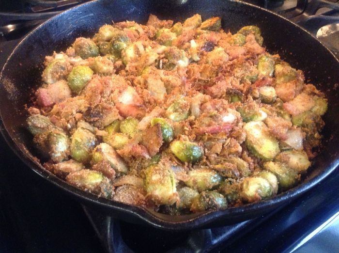 IMG_0212 Brussels Sprouts au Gratin