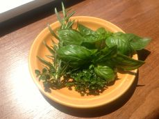 Fresh Herbs for the Marinade