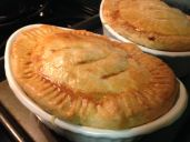 Spicy Chicken Pot Pies