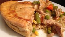 Spicy Chicken Pot Pie