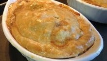 Sausage Pot Pie - Finished!