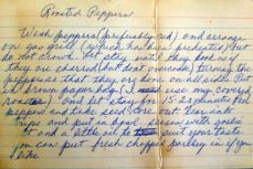 Mom's Roasted Red Pepper Recipe