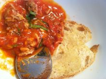 Slow Chunky Tomato Sauce - Chef's Tasting