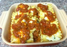 Top with any leftover sauce