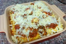 Top with cheese topping