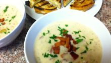 Creamy Chicken and Potato Soup