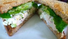 Pear & Chicken Salad Sandwich