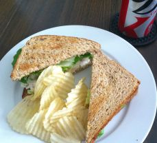 Pear & Chicken Salad Sandwich