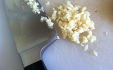 Minced garlic.