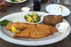 Battered & Fried Haddock