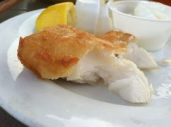 Battered & Fried Haddock
