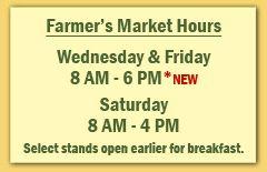 Market hours.