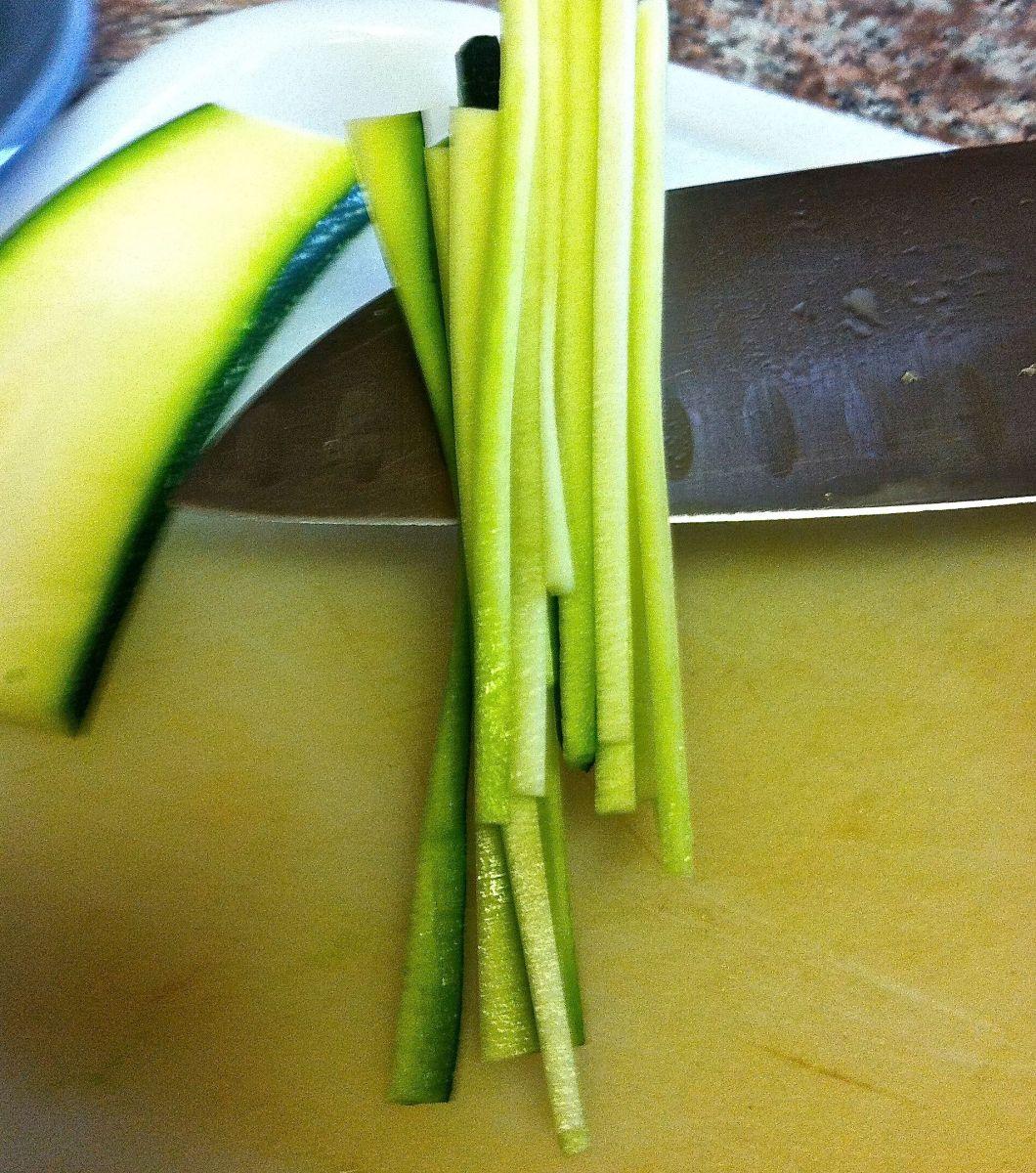 Proper Zucchini Sticks