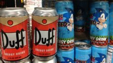 More ridiculous energy drinks.