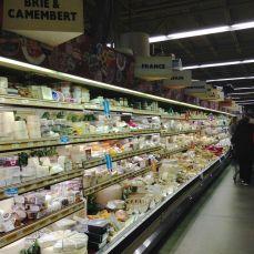 Walls and walls of cheese...