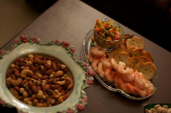 Shrimp and Mango Salsa