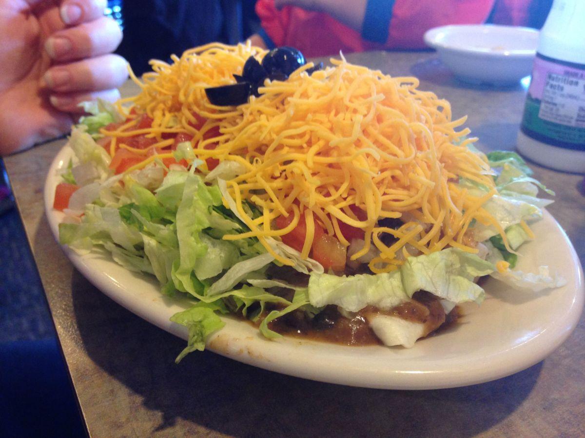 This is the veggie burrito.