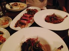 Rabbit and other dishes...