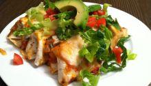 Chicken Enchilladas