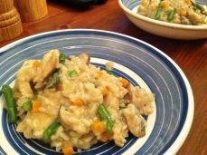 Mushroom and Veggie Risotto