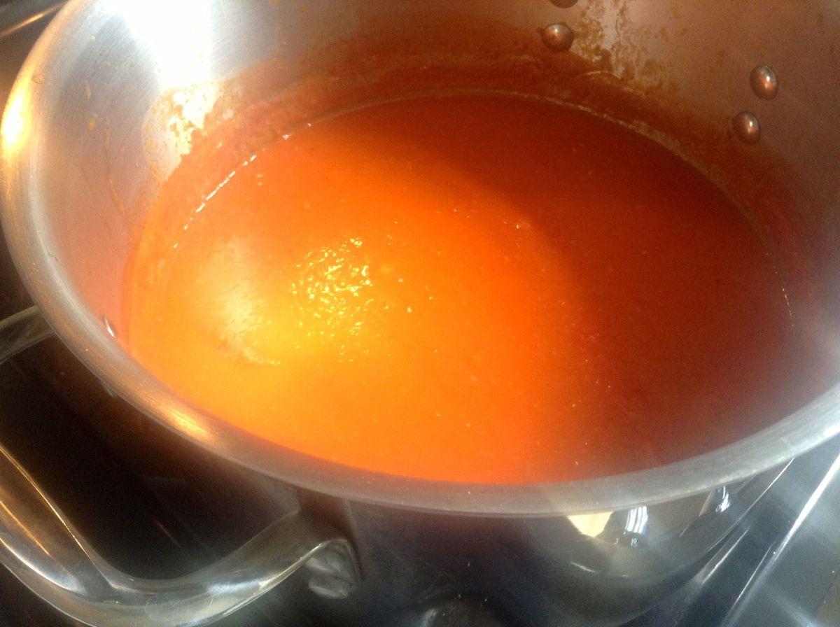 Red Butter Sauce