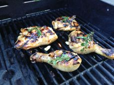 Asian Grilled Chicken Legs and Thighs